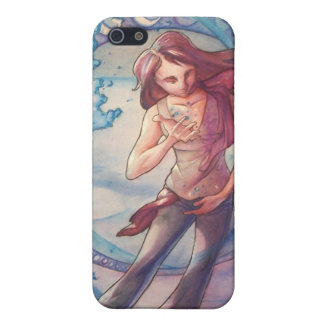 Liquid Water Figure Cover For iPhone SE/5/5s