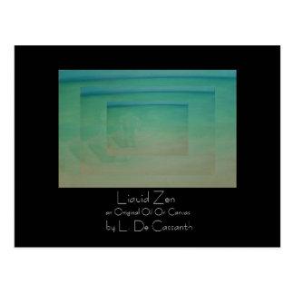 """""""Liquid Zen"""" Postcard"""