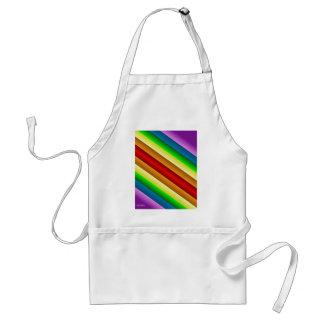 Liquidartz Double Edged Rainbow Adult Apron