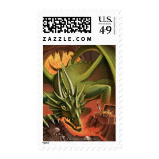 LiquidLibrary 10 Postage Stamps