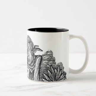 LiquidLibrary 13 Two-Tone Coffee Mug