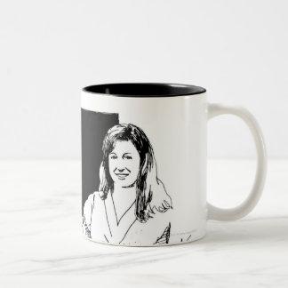 LiquidLibrary 2 Two-Tone Coffee Mug