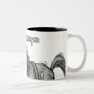 LiquidLibrary 8 Two-Tone Coffee Mug