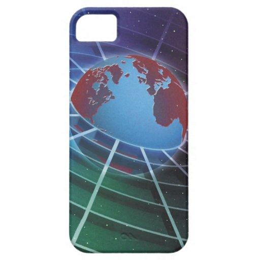 LiquidLibrary iPhone 5 Funda