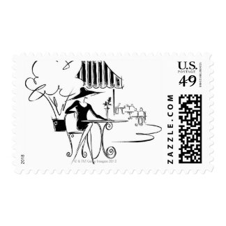LiquidLibrary Stamp