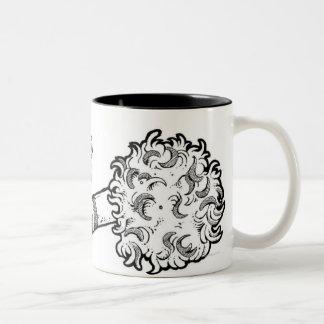 LiquidLibrary Two-Tone Coffee Mug