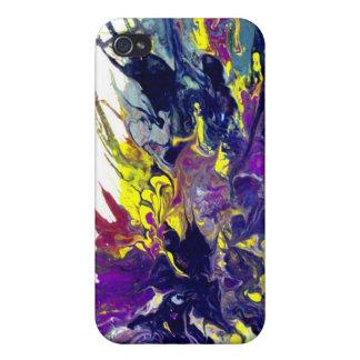 Líquido abstracto IPHONE - arte por el acebo Ander iPhone 4/4S Fundas