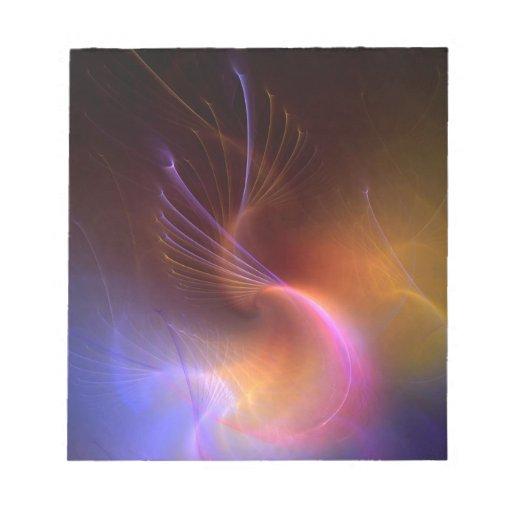 Líquido abstracto Tenticles de los colores Bloc