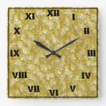 líquido amarillo relojes