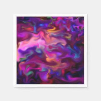 líquido de la fascinación, rosa fuerte servilletas desechables