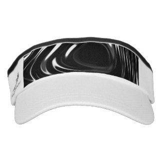 Líquido metálico en blanco y negro visera