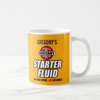 Líquido personalizado divertido del arrancador taza de café