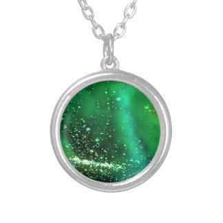 Líquido, verde colgante