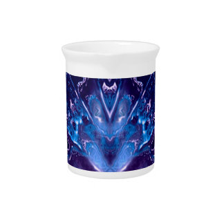 líquidos dreamlike azules jarra