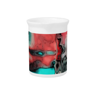 líquidos dreamlike rojos jarra para bebida