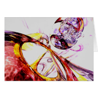 Liquified Abstract Card