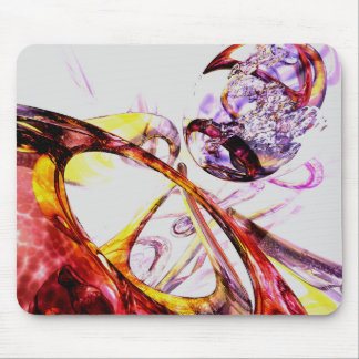 Liquified Abstract Mouse Pad