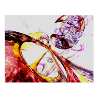 Liquified Abstract Postcard