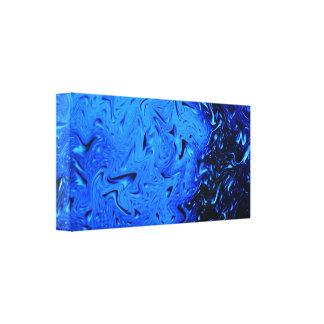 Liquify Raindrops Canvas Print