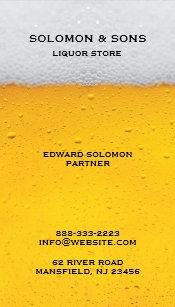 Liquor store business cards zazzle liquor beer store business card colourmoves