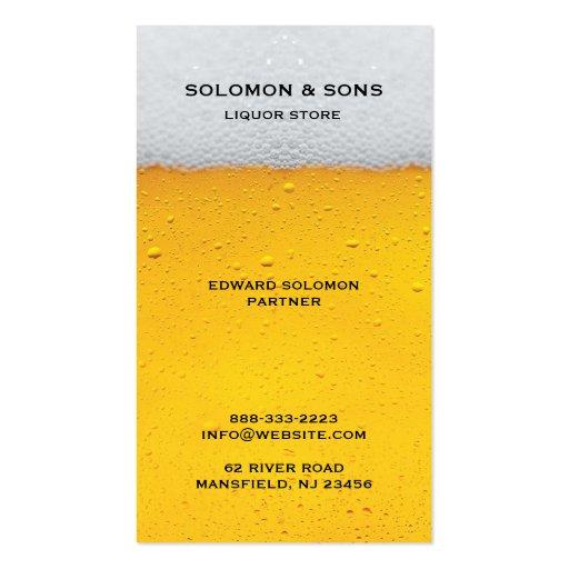 Liquor store business card templates bizcardstudio liquor beer store business card colourmoves