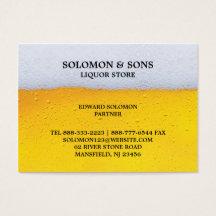 Liquor store business cards templates zazzle colourmoves
