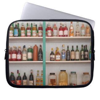 Liquor bottles computer sleeve