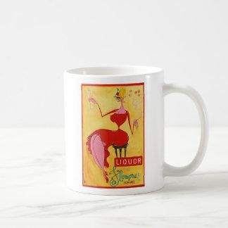 liquor & flowers coffee mug