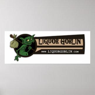Liquor Goblin Poster