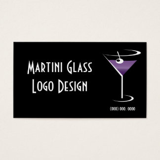 Liquor Logo Business Card