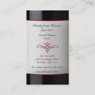 Liquor store business cards zazzle liquor wine store business card reheart Images
