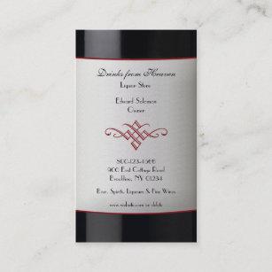 Liquor Business Cards Zazzle