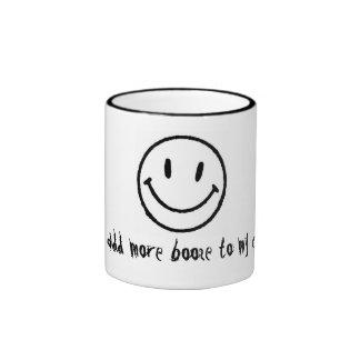 Liquored up coffee cup ringer coffee mug