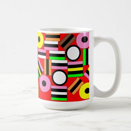 Liquorice All-sorts Coffee Mug