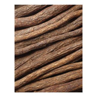 Liquorice root letterhead
