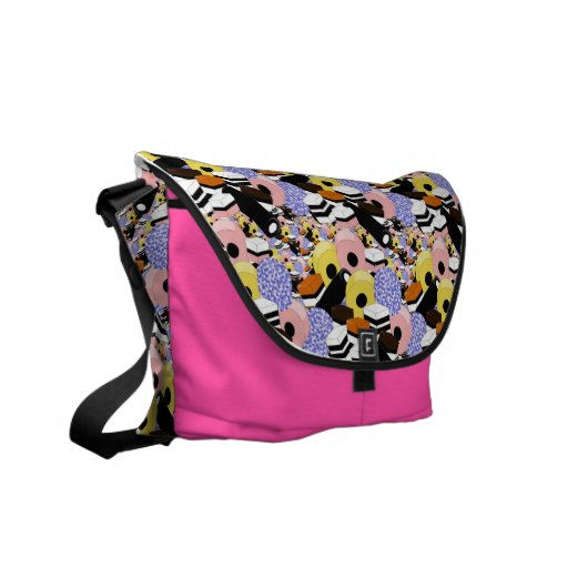 Liquorice sweets courier bag
