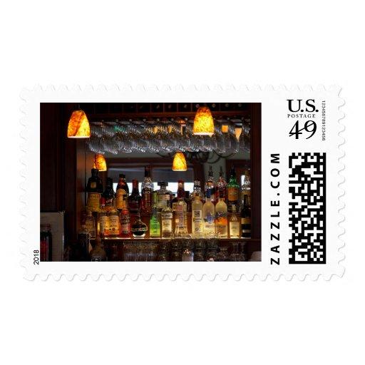 Liquors Bars Postage Stamps