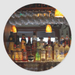 Liquors Bars Round Sticker