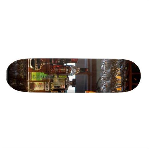 Liquors Bars Skate Board