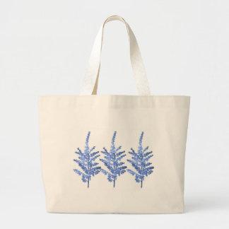 Lirio azul Lillies del claro de luna Bolsas