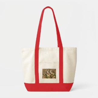 Lirio blanco bolsa de mano