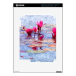 Lirio de agua hermoso 1 pegatina skin para iPad 3