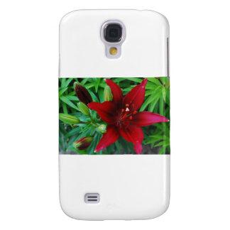 Lirio de Borgoña Funda Para Galaxy S4