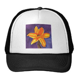 Lirio de día vibrante gorras