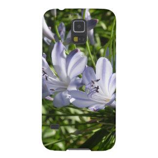 Lirio de la caja de la galaxia del Nilo Samsung Funda Para Galaxy S5
