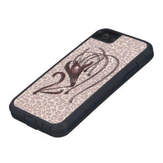 Lirio de leopardo funda para iPhone SE/5/5s