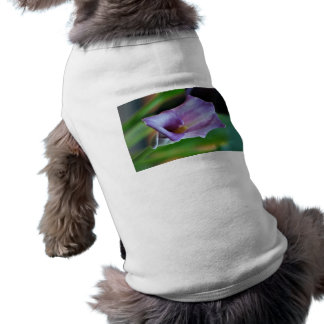 Lirio de los valles púrpura y significado playera sin mangas para perro