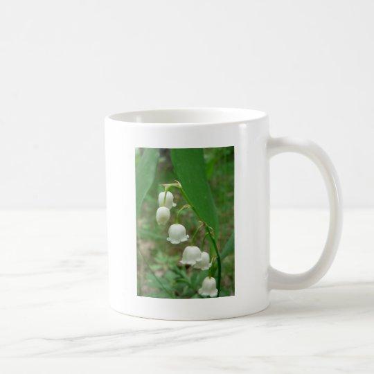 Lirio de los valles taza de café