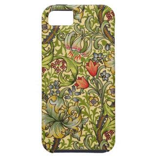 Lirio de oro de William Morris iPhone 5 Cobertura