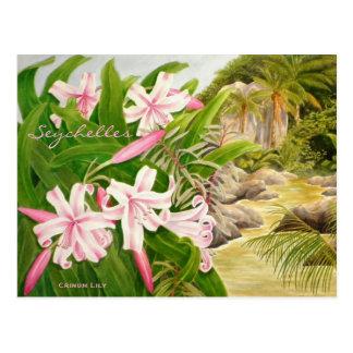 Lirio de Seychelles Postal